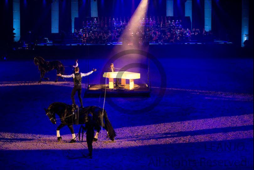 Vaultingshow at Frisian Proms 2017